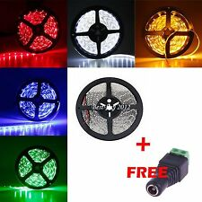 5M 10M 15M 3528 Red Green Blue Warm Cool White LED Strip Fairy Party Car Light