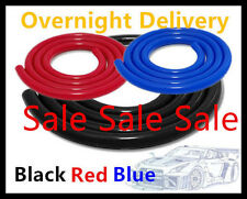 Silicone Hose/Silicon Vacuum Tubing -air,Coolent, Water Tube Hose-Black Red Blue