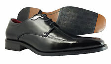 Men's Dress Shoes NXT Oxford Lace Up Black Genuine Leather Fashion Italian Shoes