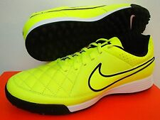 NIKE TIEMPO GENIO LEATHER TF ASTRO ARTIFICIAL TURF FOOTBALL SOCCER SHOES
