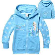 Girls Clothing Kids Toddler Top T-Shirt Disney Frozen Queen Elsa Anna Age 2-8Y