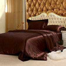 100% Mulberry Silk Flat Sheet, Seamless,19momme king size multi colors