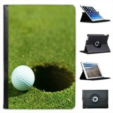 Golf Ball on Edge of Golf Course Hole Folio Leather Case For iPad Mini & Retina