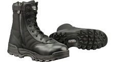 """NEW IN BOX ORIGINAL S.W.A.T. Classic 9"""" Side Zip Work Boots Black Leather 115201"""