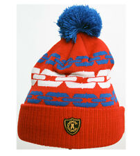 Crooks & Castle Chain Beanie in Red
