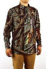 New style!Unisex Jahti jakt thin Fleece hunting 3d tree camo T-SHIRT XS-XXXXL