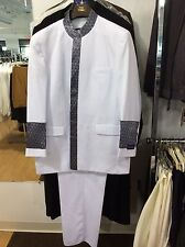 PASTOR SUIT,CHURCH 1 ,TONY BLAKE,WHITE,DESIGNED IN USA,NEW WITH TAGS!!
