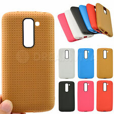 Ultra Thin Soft TPU Gel Silicone Matte Cover Case Skin For LG G2 mini +Film