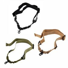 Tactical 1 Single Point Stealth Bungee Sling Strap For AR M4 M16 Rifle Shotgun
