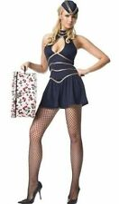 Air Hostess / Stewardess Fancy Dress Costume 4 piece outfit - Size 6-10