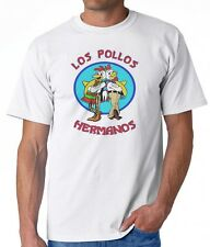White T-Shirt LOS POLLOS HERMANOS Breaking Bad