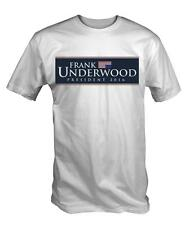 Frank Underwood 2016 T Shirt Cards of House TV Spacey Kevin funny president