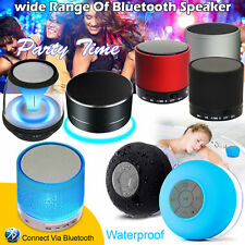 Bluetooth Mini Speaker Wireless Portable Super Bass For iPhone Samsung Tablet UK
