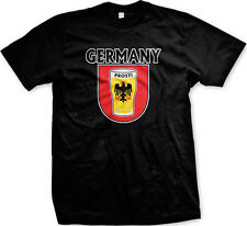 Germany Prost Eagle Beer Glass Beerfest Deustchland Oktoberfest Mens T-shirt