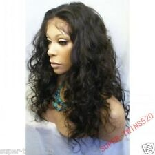 100% Human Hair Lace Wigs Fashion Curly Indian Remy Nature Hairline POP Stars **