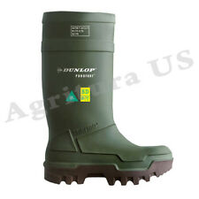 Dunlop Purofort Thermo+ full safety Green/Brown Shoes - E662843