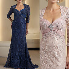 Mother Of The Bride Dresses Plus Size Women Formal Evening Outfit Free Jacket