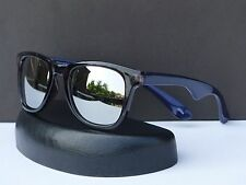 Wayfarer Retro 80s Two Tone Revo Mirrored Designer Sunglasses + Microfiber Bag