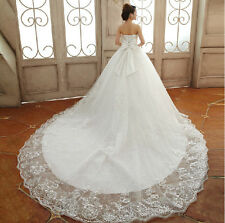 2014 New White/Ivory Wedding dress Bridal Gown Size 2-4-6-8-10-12-14-16-18-20
