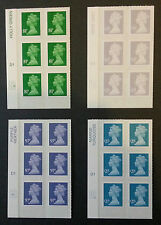 NEW 2014 DEFINITIVES - 81p / 97p / £1.47 / £2.15 CYLINDER BLOCKS - M14L