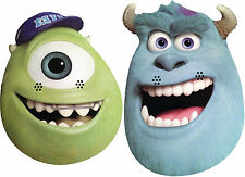 MONSTERS UNIVERSITY (INC) FACE MASKS - 3 PACKS TO CHOOSE FROM - FREE SHIPPING!!