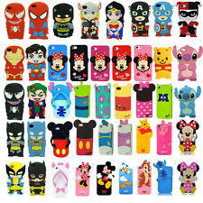 3D Cartoon Superhero Soft Silicone Rubber Case Cover For iPhone 5C/4G 4S/5 5S