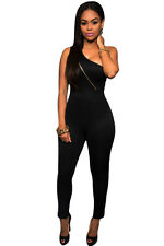 sexy Vogue Tube Top Black Jumpsuit LC6425 women romper overall palysuit winter