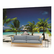 Beach Walkway Photo Wallpaper Wall Mural (CN-891P)