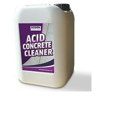 Acid Concrete Floor Cleaner remover stubborn ingrained deposits of oil grease