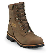 "Chippewa Men's 8"" Arctic Insulated Waterproof Work Boot - Bay Apache 29416"