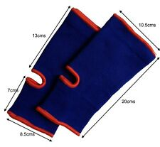 Blue Martial Arts/Muay Thai Ankle Support (Pair)