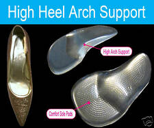 Gel Foot Arch Support Shoe Inserts Insoles Party Feet High Heels Dress Shoes