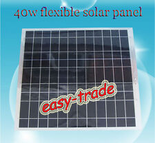 40W 50W 60W12V Semi-Flexible mono solar panel, perfect for car and boat