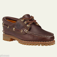 Timberland Women's Heritage Noreen 3Eye Handsewn Brown Leather Shoes Style 51304
