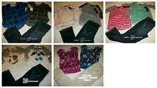 * NEW LOT GIRLS SUMMER SCHOOL SHIRTS PANTS LOT OF 3 SZ 7 8 12
