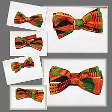 African Print Kente Bowtie Bow Tie Custom Pick Your Choice