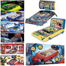 CHILDRENS KIDS ELECTRONIC TABLE TOP PINBALL GAME MACHINE SUPER TOY XMAS GIFT