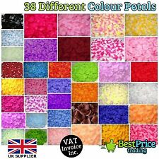 1000 Silk Artificial Rose Petal Wedding Party Confetti Flower Table Decoration