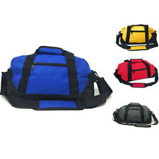 "LARGE Duffle Duffel Bag Bags 18"" Travel Sports School Gym Luggage Zipper Pockets"