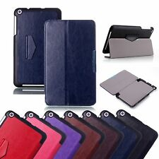 Slim Crazy Horse Folding Stand Leather Case For Tablet ASUS MEMO Pad 8 ME181C