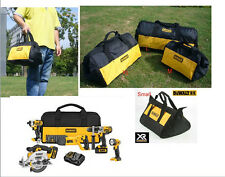 DEWALT Heavy Duty Tool Carrier Bag Multi-Compartment Massive Mouth Bag S/M/L/XL