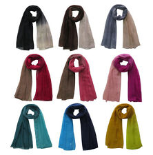 Oversize Ombre Scarf Shawl Head Wrap Muslim Hijab Women's Accessories Soft