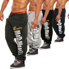 HERREN JOGGINGHOSE TRAININGSHOSE FITNESSHOSE SWEAT PANT SPORTHOSE BODYBUILING