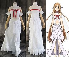 H-036 S/M/L/XL/XXL Sword Art Online SAO Alfheim ALO Asuna Cosplay costume dress