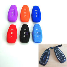 Silicone Protective Key Shell Case Cover For Ford  Mondeo Fiesta Focus Titanium
