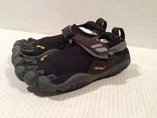 NEW VIBRAM FIVE FINGERS Women's TREKSPORT W4485 Black/Charcoal Barefoot Shoes