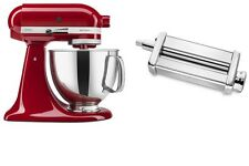 KitchenAid Artisan 5 Qt. Tilt Stand Mixer And KPSA Pasta Roller Attachment Combo