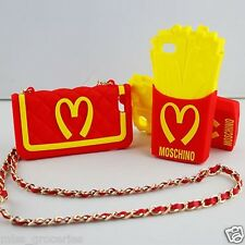 Fashion Moschino Chain Handbag Soft Silicone Case Cover for iPhone Free Shipping