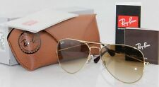 NEW Ray Ban Aviator RB3025 001/51 all size Gold Frame Brown Gradient Unisex