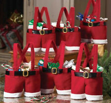 Hot-sale! Christmas Santa Claus Pants Treat Candy Wedding Ornaments Gift Bag